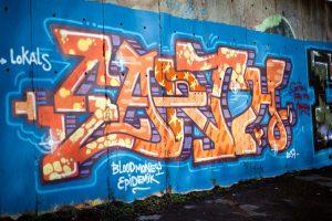 čistenje grafftitov