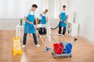 ako čistit podlahu