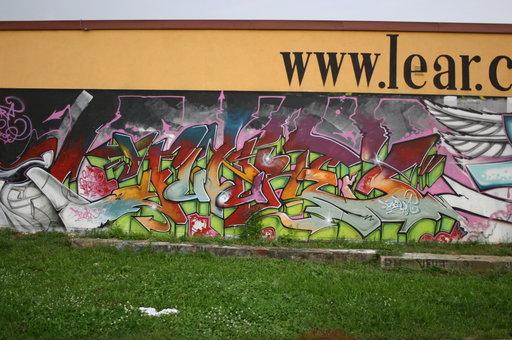 Odstránenie graffiti, profesionálne pieskovanie