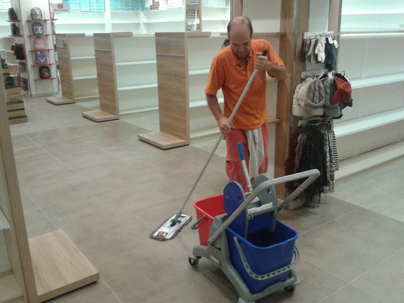 Strojové čistenie podláh Košice