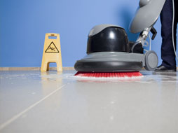 Strojové umývanie podláh